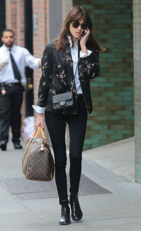 What does Alexa Chung actually do? She has okay style...i am not a huge fan, but it seems like all she really does it get dressed and walk around? She's a socialite? Isn't that just a nice way of saying rich + useless?