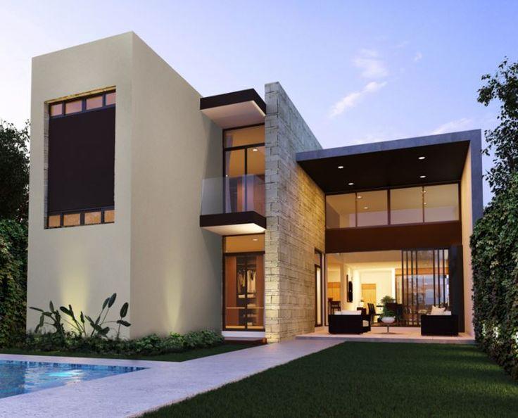 Dise o exteriores fachadas casa fachadas en 2019 house for Disenos de frentes de casas modernas