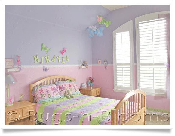 Hanging Butterflies And Dragonflies Add Life And Character To Any Garden  Themed Girlu0027s Bedroom Walls Or Ceiling. Your Little Girl Will Love Her U0027big  Girlu0027 ...