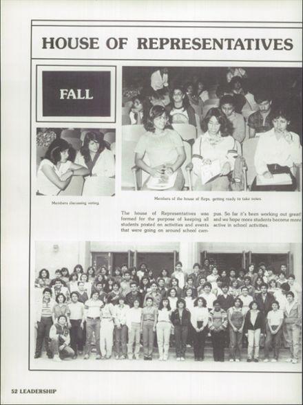 1981 Roosevelt High School Yearbook via Classmates.com