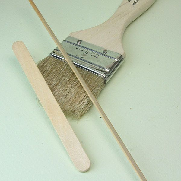 Make Brooms and Brushes for a Range of Miniature Scenes and Scales: Materials List for Scale Bristle Brooms and Brushes