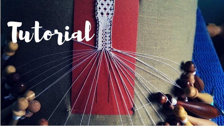 Tombolo Tutorial | Mezzopunto all'interno della tela