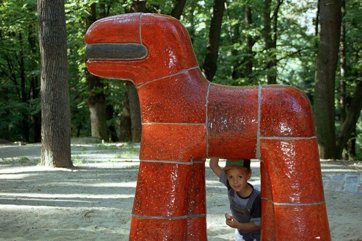Playground in Stromovka Park, Prague (CZ)