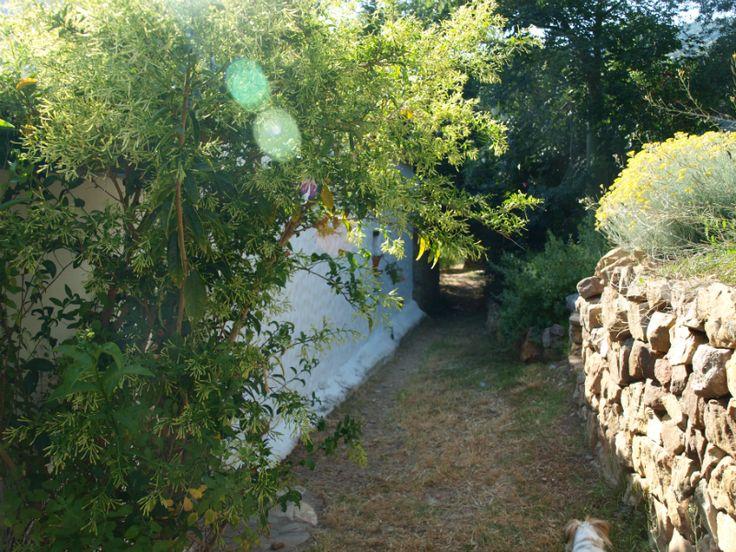 Entrada a la Casa Rural Tai.