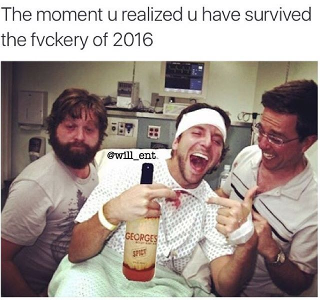 I think 2016 could have been one of the worst years on record lets hope 2017 will be alot better.    #420 #memesdaily #Relatable #dank #MarchMadness #HoodJokes #Hilarious #Comedy #HoodHumor #ZeroChill #Jokes #Funny #KanyeWest #KimKardashian #litasf#KylieJenner #JustinBieber #Squad #Crazy #Omg #Accurate #Kardashians #Epic #bieber #Weed #TagSomeone #hiphop #trump #ovo#drake