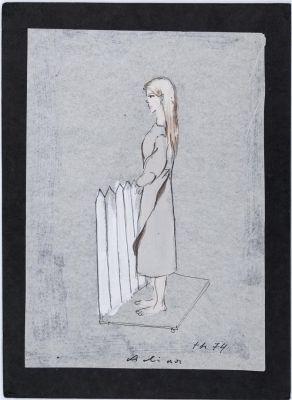 Tadeusz Kantor, projekt postaci do Balladyny Juliusza Słowackiego, Teatr Bagatela, Kraków, 1974, reż. Mieczysław Górkiewicz // 16.05.2015 -31.07.2015