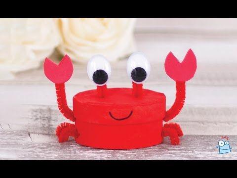 How to make a mini crab storage box