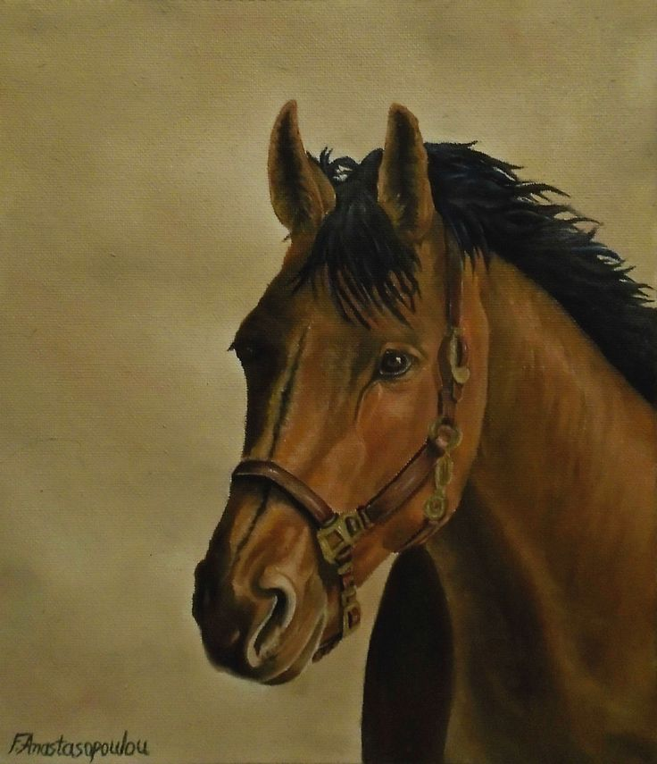 Horse, painting, portrait,realism,brown,colors,dark,orange,equine,animal,wild,life,wildlife,bridle,head,unique,artistic,beautiful,cool,awesome,decor,contemporary,modern,virtual,deviant,unique,fine,art,oil,wall art,awesome,cool,image,picture,artwork,for sale,redbubble