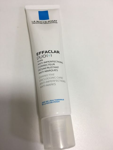 Kumkum's Beauty and MakeUp World: La Roche-Psay Effaclar Duo(+) Swatch, Review