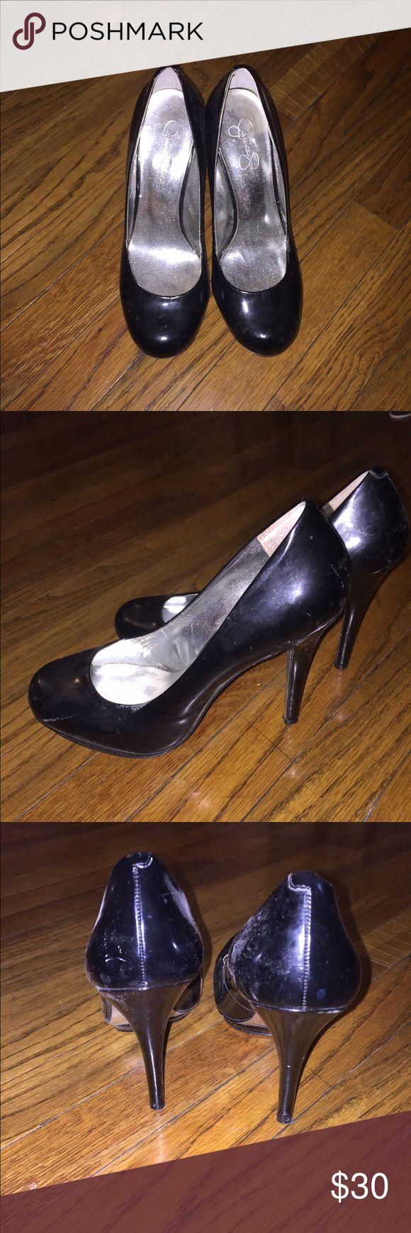 Jessica Simpson patent leather round toe pumps Jessica Simpson patent leather round toe pumps Jessica Simpson Shoes