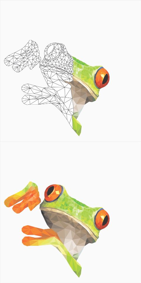 Art Design of Green Frog #art #design #green #frog