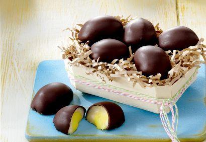 Oeufs fondants maison style Cadbury #chocolat #paques #coco #video