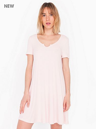 2x2 Short Sleeve Easy Dress