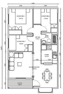 17 mejores ideas sobre planos de casas prefabricadas en - Casas prefabricadas con terreno incluido ...