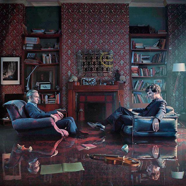 Sherlock season 4 promo picture