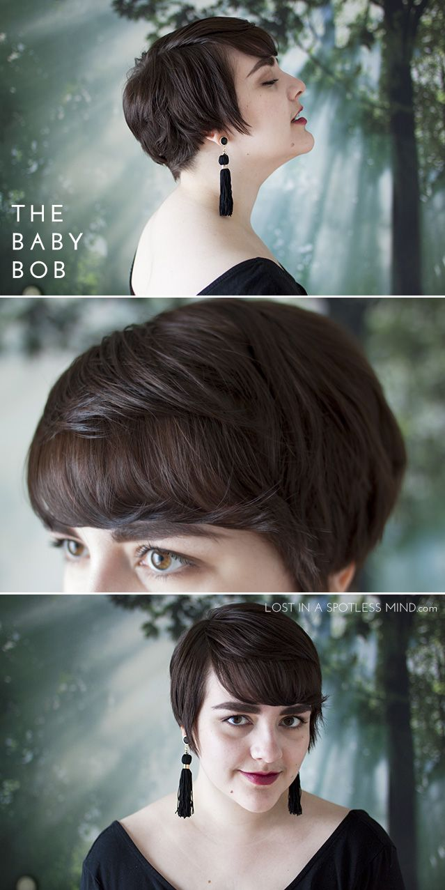 ways to cut your hair styles five ways to style a pixie cut the baby bob from 3741