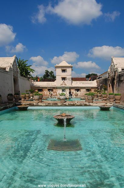 Taman Sari - A Water Castle which is Full of Beauty and Secret  #Yogyakarta #Indonesia