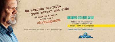 Chikungunya é pior do que se imagina diz Luiz de Abreu  Luiz está há quase nove meses com a doença. Ele acredita que quanto mais pessoas souberem do seu caso maior será o cuidado para não contrair a chikungunya.  Você provavelmente já deve ter ouvido falar da dengue chikungunya e Zika e que é preciso se prevenir contra elas eliminando o mosquito transmissor: o Aedes aegypti. Mas muitas vezes também é comum pensarmos que nunca vai acontecer conosco que estamos imunes ou que no nosso bairro…