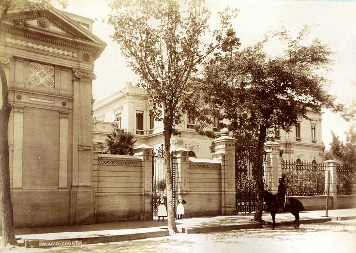 #Palacio #Cousiño #1900
