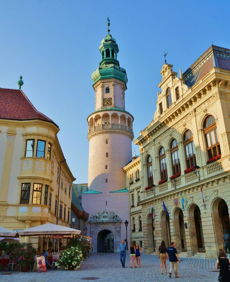 **Fire Tower (Tuztorony) (great view) - Sopron, Hungary