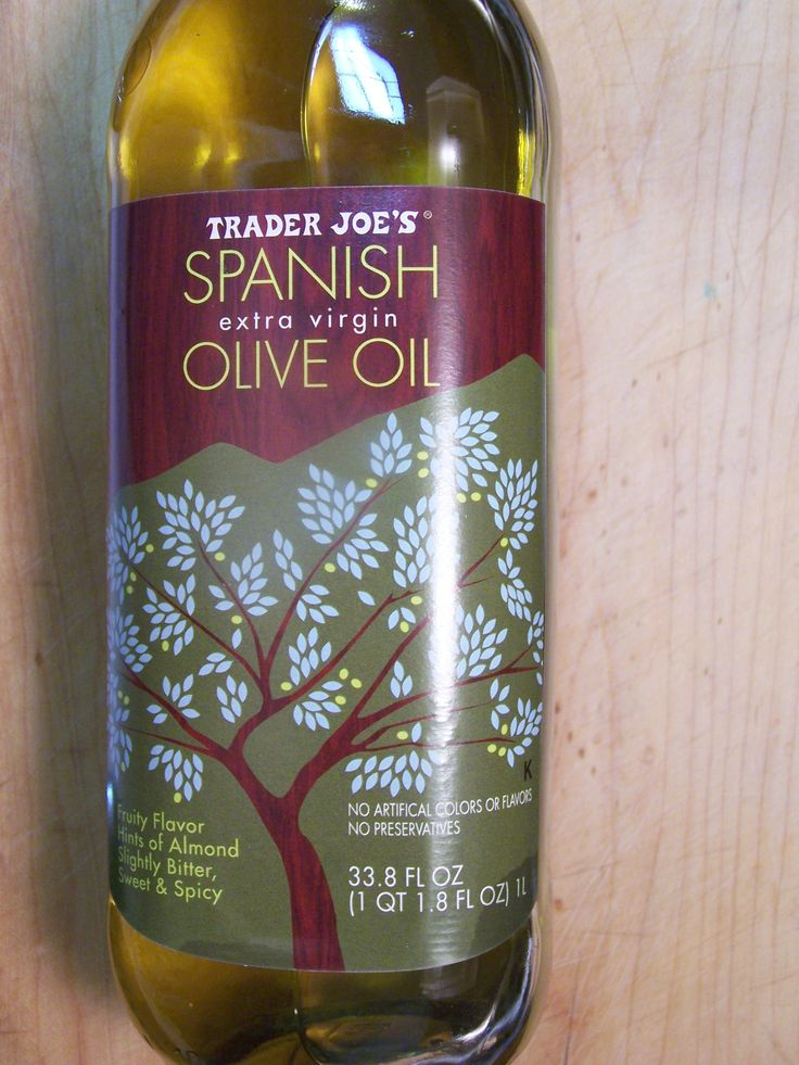 "Mother Earth Meals is a big fan of Trader Joe""s Spanish Olive Oil.  It is versatile and cheap!"