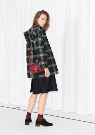 & Other Stories | Hooded Tartan Coat