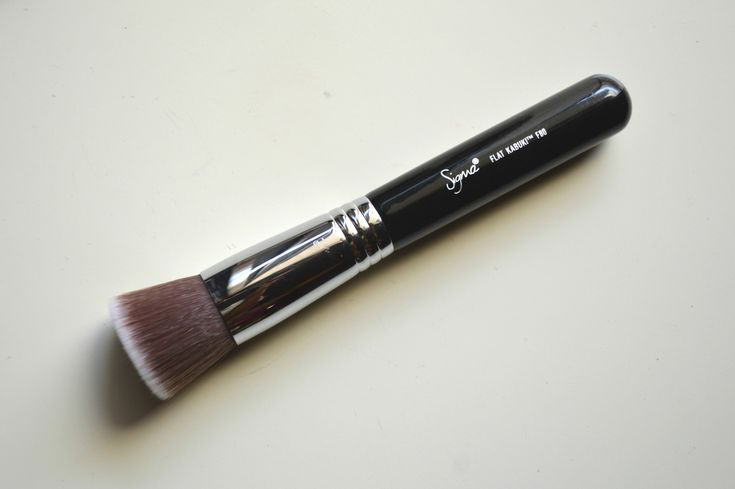 Sigma F80 Flat Kabuki Brush | Top Foundation Brush | Aarushi Jain