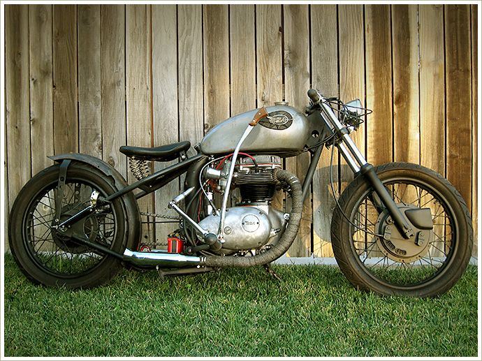 BSA A65 bobber Model 1972