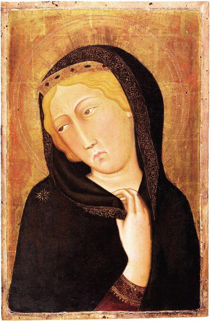 Bartolo di Fredi - Vergine Annunciata - XIV sec. - tempera e oro su tavola - Musée du Petit Palais, Avignon