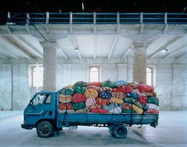 Bottari Truck by Kim Sooja