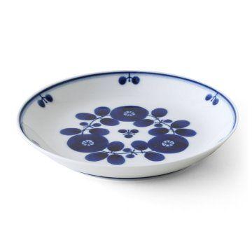 白山陶器/BLOOM ブルーム プレートS ブーケ