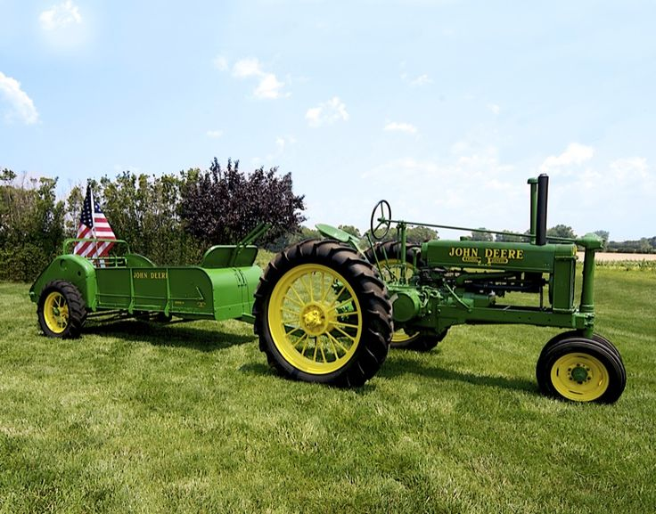 58 best John Deere images on Pinterest | Old tractors, Tractors and ...