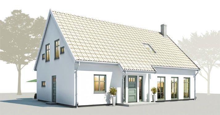 Trivselhus B:003. Inspirasjon til renovering av fasaden.