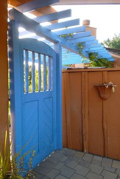 Southwest Style Gate Eclectic Exterior San Francisco