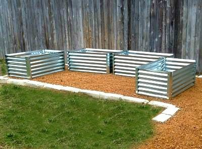 Metal Garden Beds From Recyclable Galvanized Steel Material