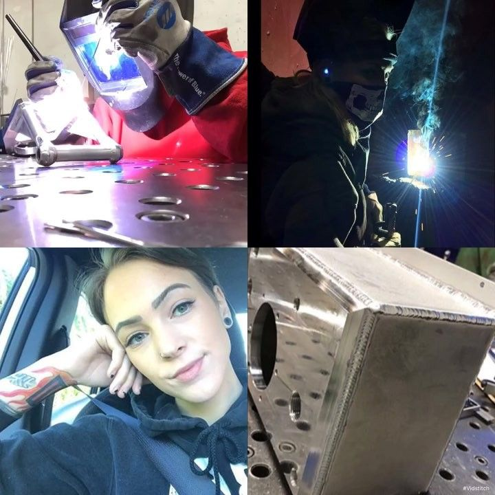 . . . @_hannarose_ . . Tag the best TIG welder you know! . . #welderbabes #welderbabe #weld #welding #welder #welderup #weldingporn #weldporn #weldingrig #weldnation #weldpornarmy #weldmafia #weldingsmostwanted #metal #sheetmetal #metalart #metalarts #metalshop #metalsculpture #fablife #fabtech #sheetmetalworker #steel #steelworks #steelworker #welding #weldlife #pipeline #pipeliner #tattoo #tattoos