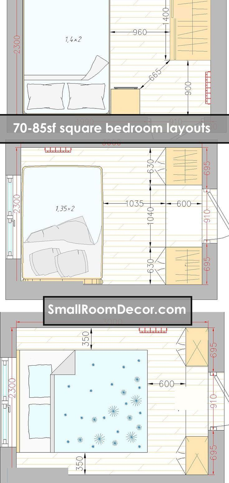46++ Furniture arrangement for small bedroom ideas in 2021