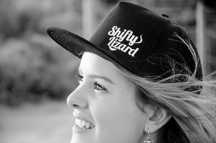 Shifty Lizard Black hat