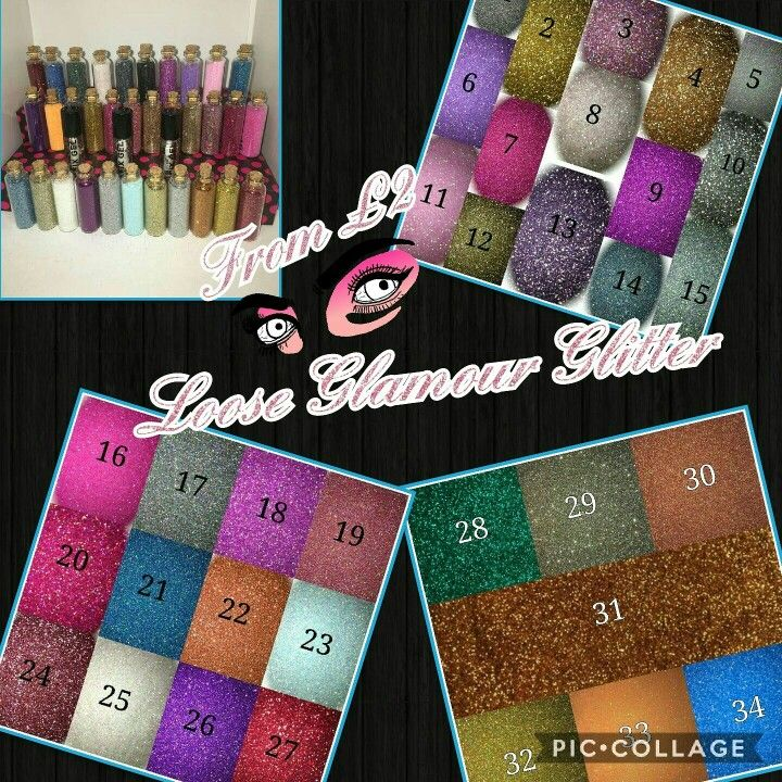 Loose Glamour Glitter from £2