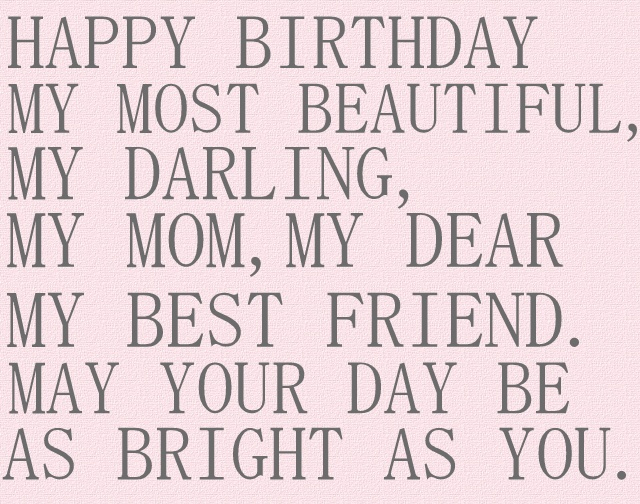 Happy Bday Mom Quotes: 9 Best Images About Happy Birthday Mom On Pinterest