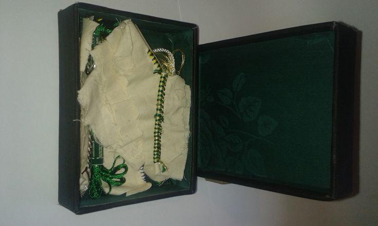 Old Retangular Box & Lid
