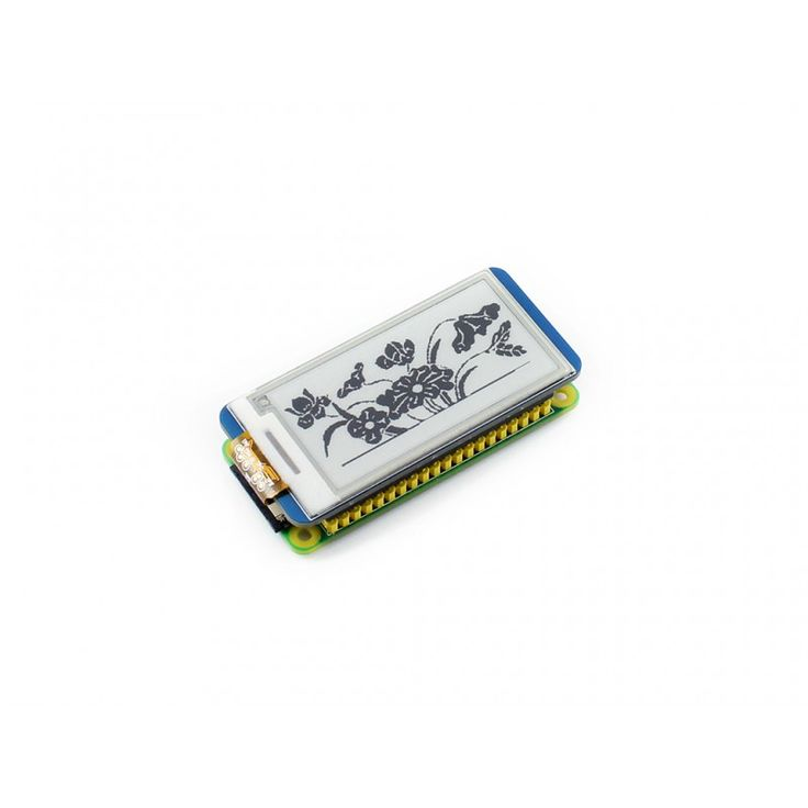 2.13'' e-Paper HAT,250x122 ,2.13inch E-Ink display for RaspberryPi 2B/3B/Zero/Zero W,color: black,white,SPI . partial refresh