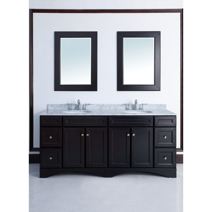 Best 25 72 inch bathroom vanity ideas on pinterest gray and white bathroom ideas gray and - Double sink vanity countertop ideas ...
