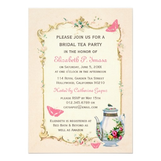Top 84 ideas about Possible Tea Party Invitations – Royal Garden Party Invitation