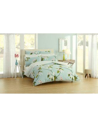 Oleander King Bed Quilt Cover   David Jones