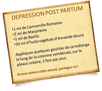 Dépression post partum : Les remèdes naturels pour vous aider