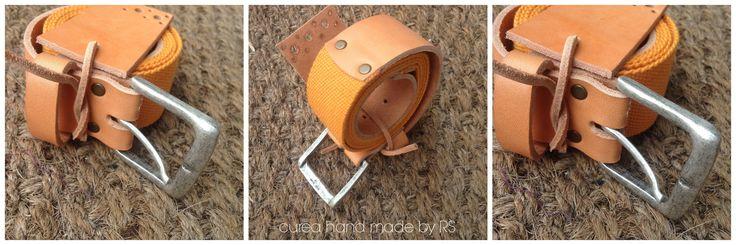 Belt hand made!