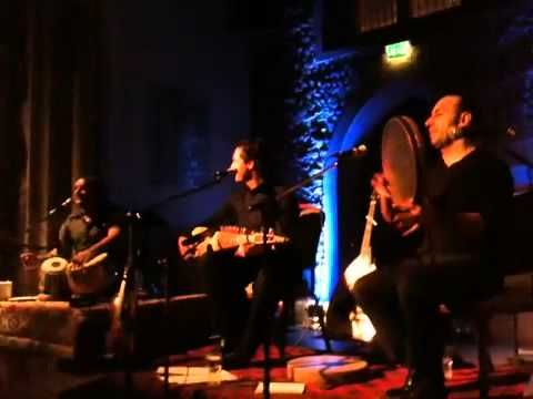 """Afghan music played by foreigners, Yousuf Mahmood sings """"Shahbaz Qhalandar"""" in Pushtu with Dr. Matthaios Tsahouridis of Greece accompanying him on Afghan Rubab and Hussain Zahawy of Kurdistan on  Diereh (Daf)"""