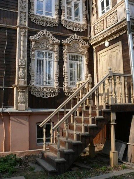 Дом Ахметова на улице Татарской в Томске.