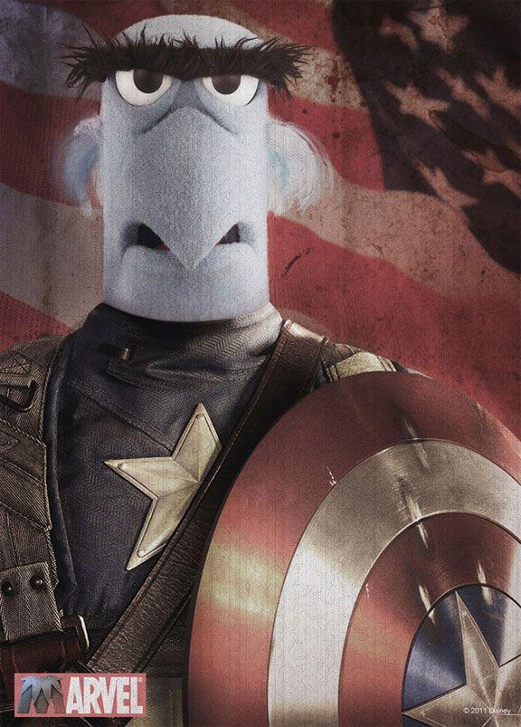 Sam The Eagle…The First Avenger?